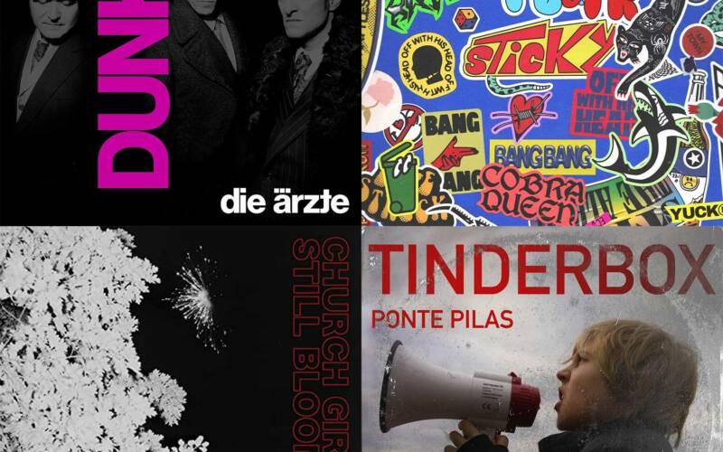 Oktober-Kurzreviews: Neue Alben von Die Ärzte, Frank Carter & The Rattlesnakes, Church Girls & Ponte Pilas