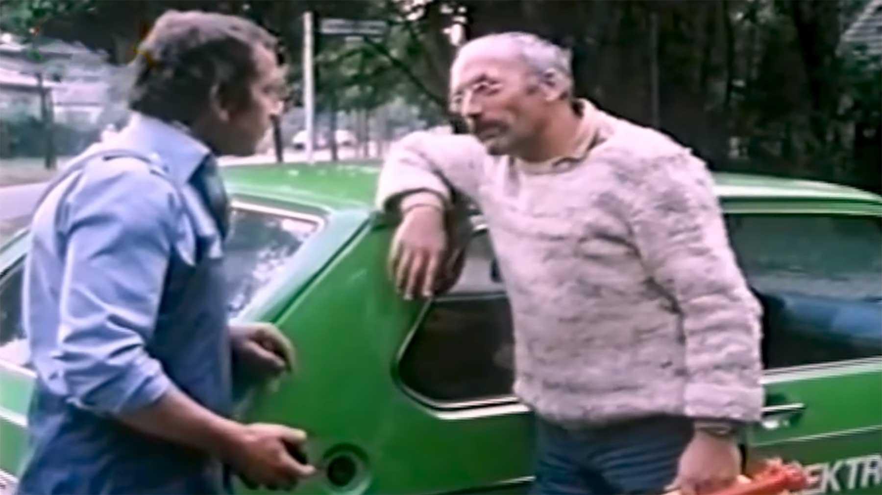 """Peter Lustig hat bereits 1983 ein Elektroauto in """"Löwenzahn"""" gefahren"""