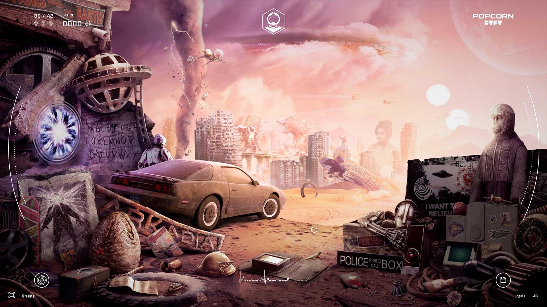 PopCorn SyFy: 42 im Bild versteckte Sci-Fi-Filme & -Serien