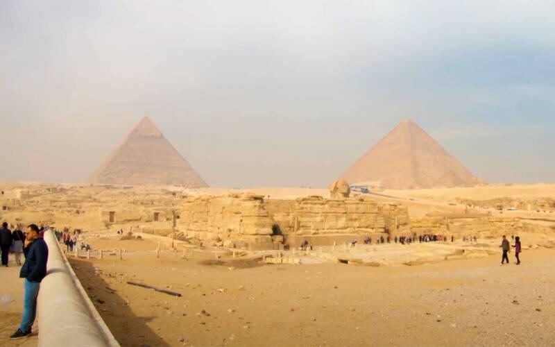 4K-Videotour bei den Pyramiden von Gizeh