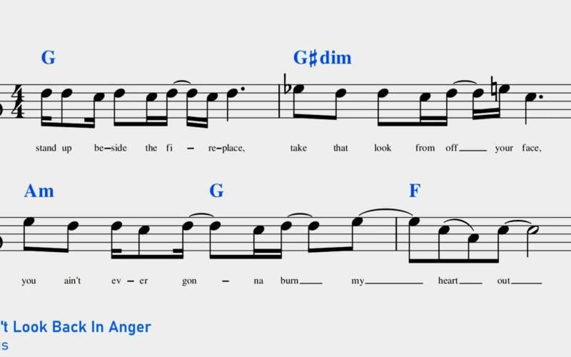 Verminderter Dreiklang: Erklärung & Beispiel-Lieder