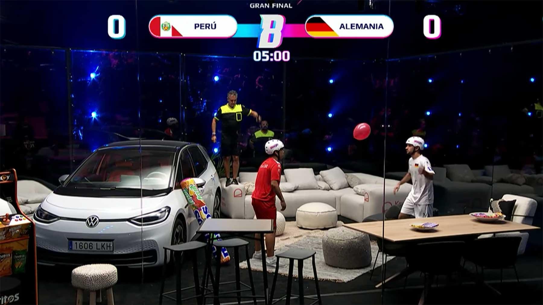 Weltmeisterschaft im Luftballon-Hochhalten
