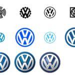 Logo-Veränderungen binnen 100 Jahren
